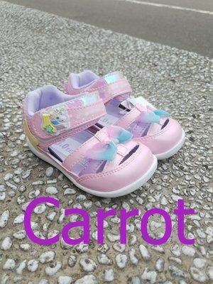 十隻爪子童鞋坊*Carrot粉嫰蝴蝶結護趾小涼鞋 寶寶鞋 學步鞋 最後幾雙呦
