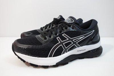 =小綿羊= ASICS GEL-NIMBUS 21 黑白 1012A156-001 亞瑟士 女生 慢跑鞋 高緩衝
