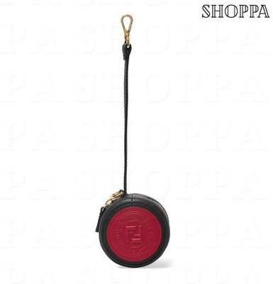 【SHOPPA】FENDI FF LOGO  皮革 包包 吊飾 + 袋子 18秋冬