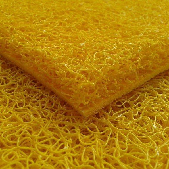 免運 地毯 特厚絲圈黃色地毯風水地墊防滑金色出入平安蹭腳除塵門墊無字壓邊