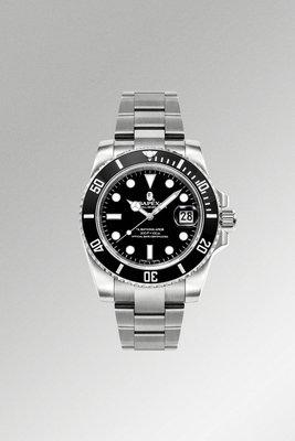 預購 BAPE 自製 史上最高質感手錶 BAPEX WATCHES 黑水鬼