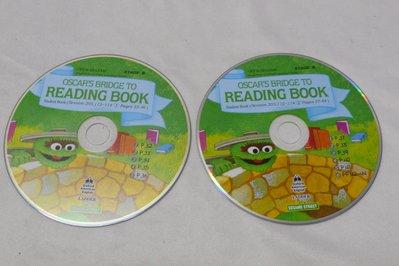 【彩虹小館T12】兒童CD~open sesame.stage B/READING BOOK芝麻街美語~共3片