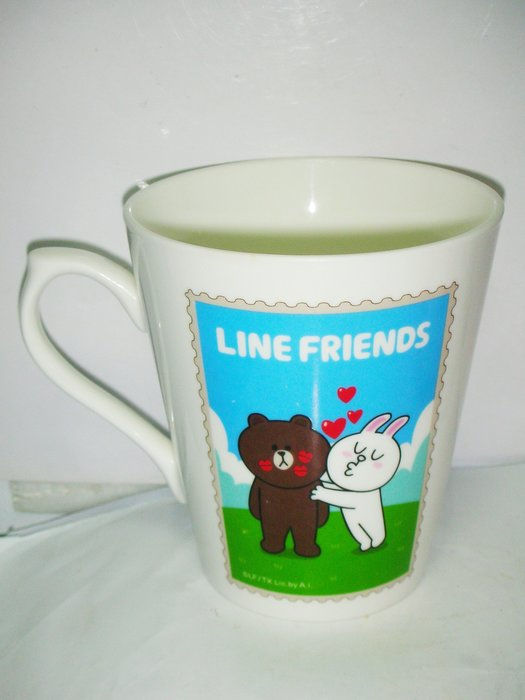 aaL皮1商旋.(特色馬克杯)全新LINE FRIENDS馬克杯!/6房大箱/-P