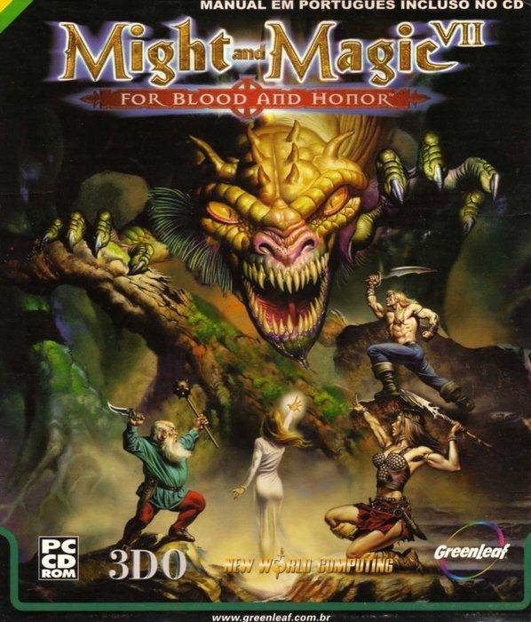 PCGAME-Might and Magic VII 魔法門七血與榮耀的聖戰(英文版)