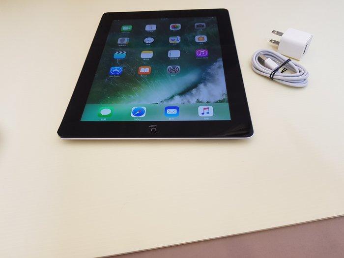 APPLE 9.7吋平板 IPad4 黑色 WIFI版 32GB  功能正常 只賣4800