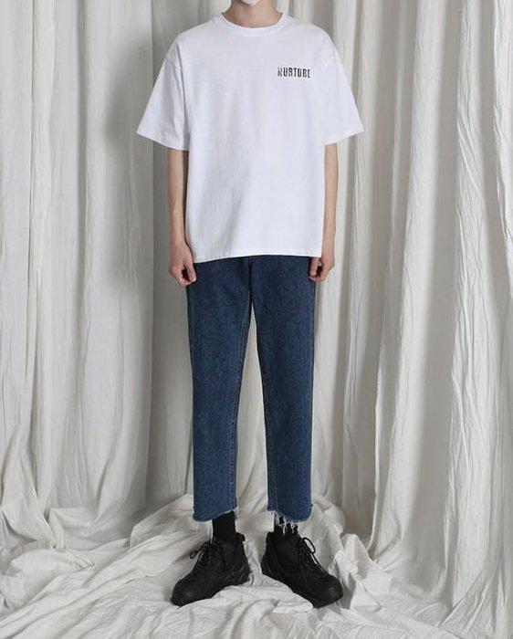 【NoComment】日系復古原宿風格的一款原色寬直筒八分牛仔褲 兩色 Levis 古著