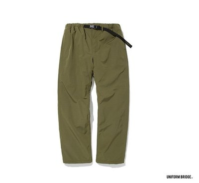 GOODFORIT / 韓國UNIFORM BRIDGE Padded Strap Pants休閒防風長褲/兩色