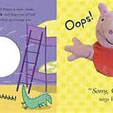 *小貝比的家*PEPPA PIG: PLAY WITH PEPPA /硬頁/3~6歲/大型手偶書