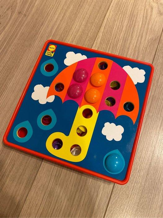 二手專區 美國購入 Alex toys 鈕扣拼拼樂 玩具