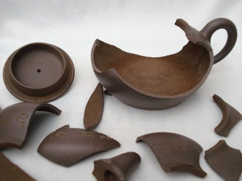 慧羽軒-淺談紫砂壺的特徵~紫泥~王炳榮制壺