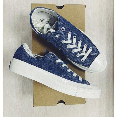 新貨 Converse Renew Denim Chunk 1970s 丹寧 牛仔 帆布鞋 現貨 165649C