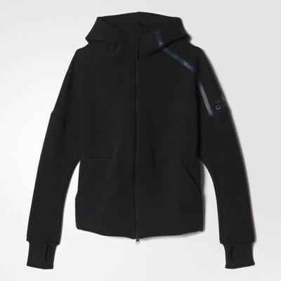 Look 鹿客 adidas ZONE 女 連帽外套 S95345
