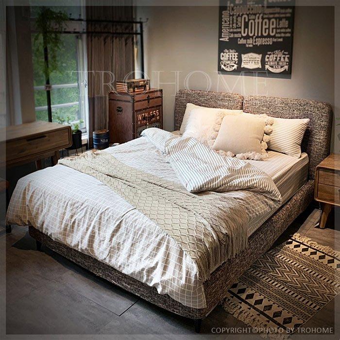 【拓家工業風家具】可拆式棉麻五尺床架/LOFT房間組五尺六尺加大雙人床