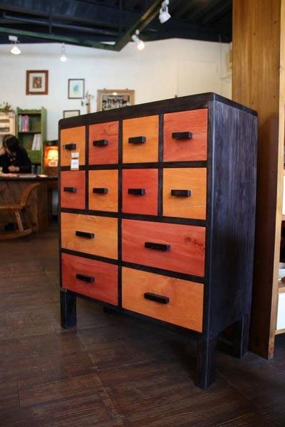 原木工坊~原木家具首選  居家空間設計規劃   實木斗櫃;收納櫃