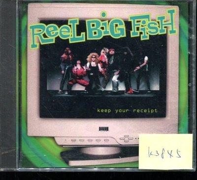 *真音樂* REEL BIG FISH / KEEP YOUR 美版 全新 K3845 (清倉.下標賣4)