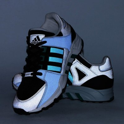 特價現貨US9 反光款Adidas EQT RUNNING SUPPORT S32144 高雄市