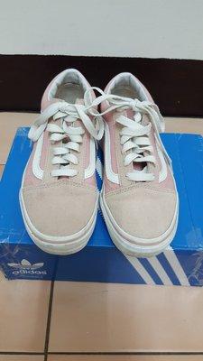 Vans  超美~粉紅色麂皮滑板鞋UK3~22CM~斷貨款