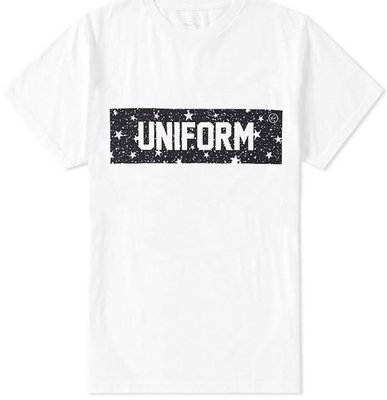 16aw Uniform Experiment STAR BOX LOGO TEE 含運 現貨