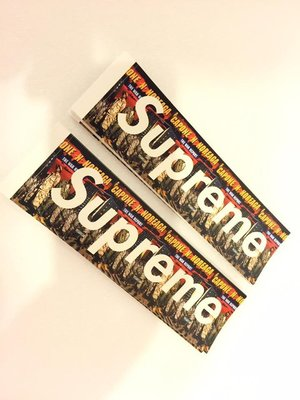(TORRENT) Supreme  Capone N Noreaga CNN Box Logo Sticke 貼紙