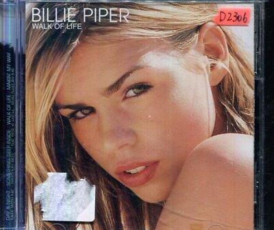 *還有唱片四館* BILLIE PIPER / WALK OF LIFE 二手 D2306