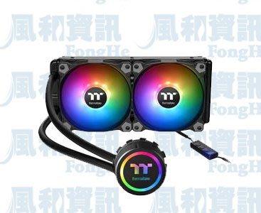 曜越 Thermaltake Water 3.0 240 ARGB Sync主板連動版一體式水冷CPU散熱器【風和資訊】