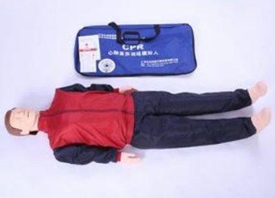 《宇煌》心肺復蘇模擬人工呼吸假人半身急救訓練人體模型 醫學用CPR橡皮人