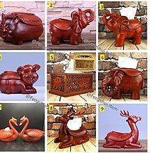 【創意紙巾盒系列- 9️⃣款】紅木雕刻工藝 | 不經意的風水擺設 家居實用品存物箱 自用/送禮一流 ($270~$790)