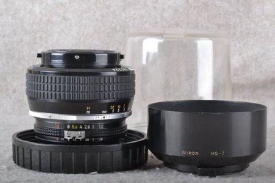 【品光數位】  NIKON Noct-Nikkor 58mm F1.2手工打磨非球面鏡片 夜之眼 稀有銘鏡 #51102