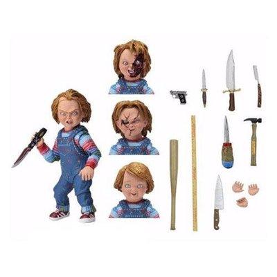 NECA Child's Play Ultimate Chucky 靈異入侵 鬼娃恰吉豪華版 7吋可動人偶