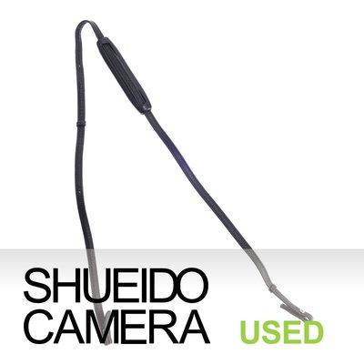 集英堂写真機【全國免運】中古良上品 / PENTAX 原廠 皮製 相機 背帶 17436