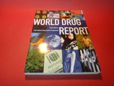 【愛悅二手書坊 05-24】World Drug Report     Oxford University Press