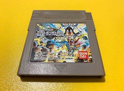 幸運小兔 GB遊戲 GB 新SD鋼彈外傳 騎士鋼彈物語 SD鋼彈 超級機器人大戰 GameBoy GBC、GBA適用F3