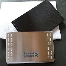 Standard Chartered Bank name card box 渣打 銀行 名片盒
