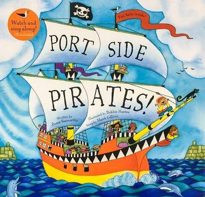 Barefoot / Port Side Pirates / 歌謠書 + CD / Oscar Seaworthy