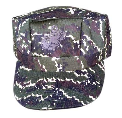 海陸虎斑數位迷彩八角帽 海軍陸戰隊虎斑迷彩八角帽 角色扮演 生存遊戲