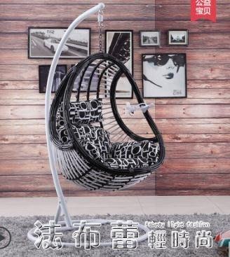吊籃紫葉陽臺吊椅鳥巢秋千室內單人搖椅戶外懶人搖籃椅成人藤椅