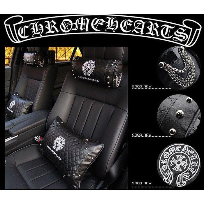 汽車內飾用品克羅心男女士車載車用車枕頭枕/抱枕/腰靠靠枕/頸枕