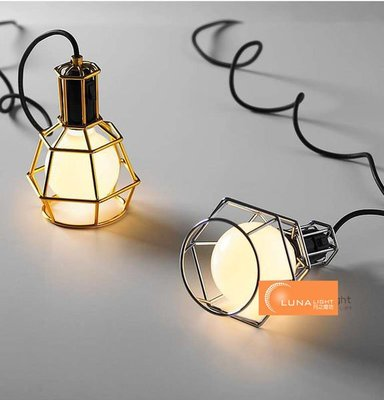 【LUNA LIGHT 月之燈坊】全網最低 House Work Lamp 車庫吊燈(P-364)黑色特價