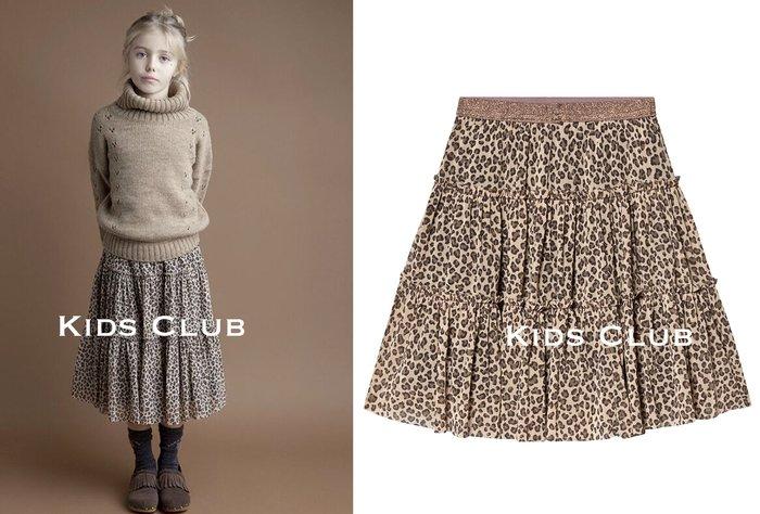 【Kids Club】10/4 歐美品牌寶寶女童兒童可愛動物豹紋斑點蛋糕裙舒適彈性腰圍半身裙短裙子