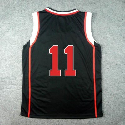 CHINESE TAIPEI SD誠凜高校11號黑子哲也籃球服套裝籃球衣籃球背心運動定制訂做