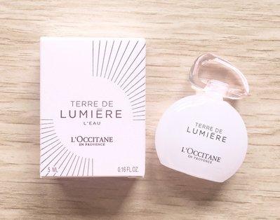 【Q寶媽】L'OCCITANE 歐舒丹 純境之光淡香水5ml 縮小版 期限2020.07