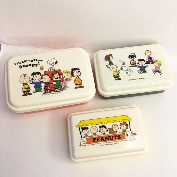^燕子部屋 ^ 日本製 【史努比 】保鮮盒組3入