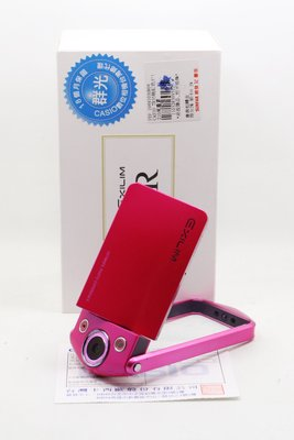 【高雄青蘋果3C競標】Casio TR35 TR-35 桃紅 內建WIFI 二手相機 #07526