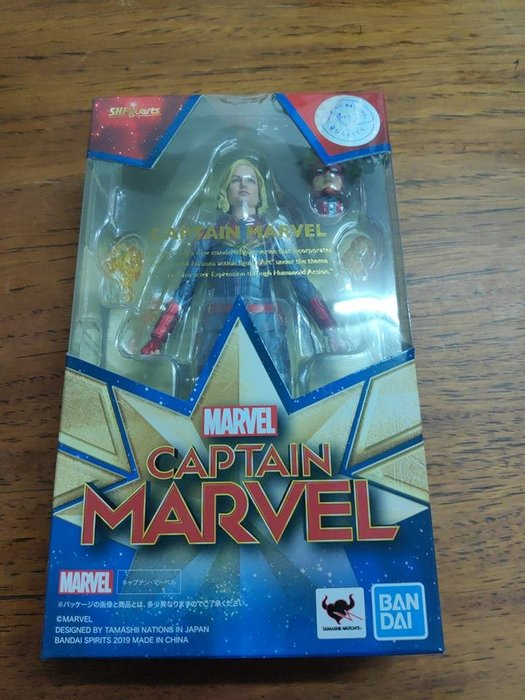 現貨 日版 S.H.F SHF 復仇者聯盟 Marvel 驚奇隊長 驚奇女士 卡蘿 丹佛斯