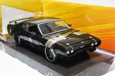 【特價現貨】玩命關頭 1:24 Jada Plymouth GTX 唐老大 Fast and Furious 8