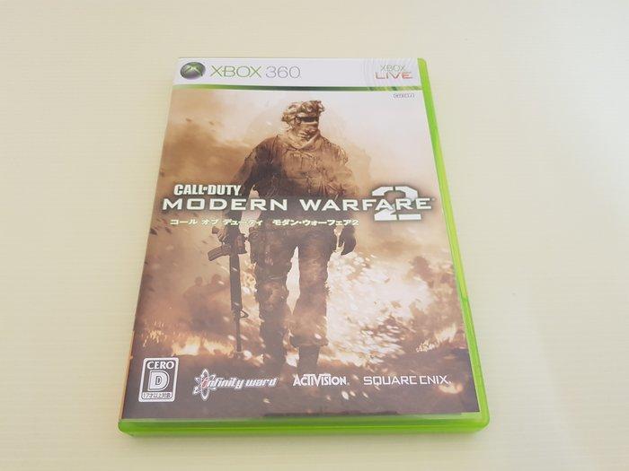 日版 最便宜 XBOX 360 原廠二手遊戲片 決勝時刻 現代戰爭2