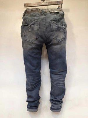 【江南小舖】正韓-鬆緊腰口袋蝴蝶結造型牛仔褲**零碼出清