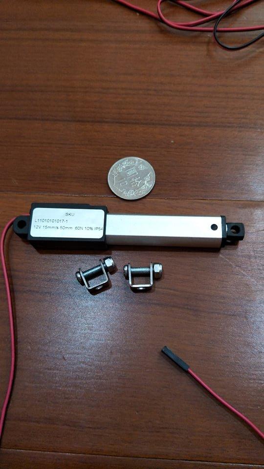 微型推桿 小型電動缸 直流12V 30MM 迷你推桿 線性馬達 往復馬達 電動伸縮桿 60N