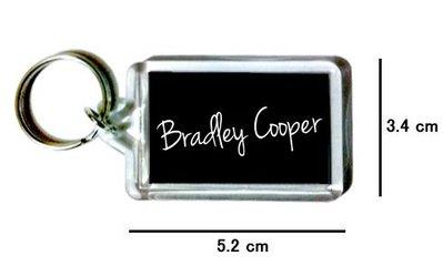 〈可來圖訂做-鑰匙圈〉布萊德利庫柏 Bradley Cooper 壓克力雙面鑰匙圈 (可當吊飾)