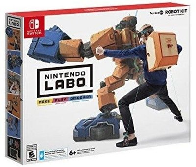 全新 Labo Toy-Con 02: Robot Kit 任天堂紙皮機械人 Toy-Con02 ROBOT KIT for Nintendo Switch